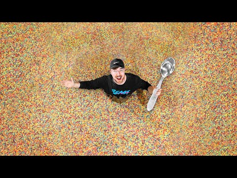Worlds Largest Bowl Of Cereal