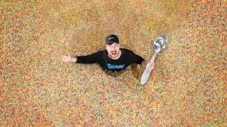 World s Largest Bowl Of Cereal