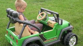 Jeep Wrangler Off Roading