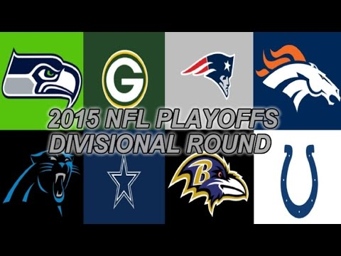 2015 NFL Playoffs Divisional Round Picks WHO YA GOT?!