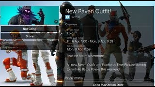 RAVEN SKIN RELEASE DATE CONFIRMED| FORTNITE GRIND TO PRO PLAYER| ROAD TO 400 SUBS| #Fortnite| PS4