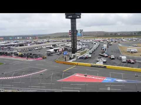 Charlotte Motor Speedway New Veranda seat view