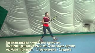 Теннис. Дневник тренировок. 1.