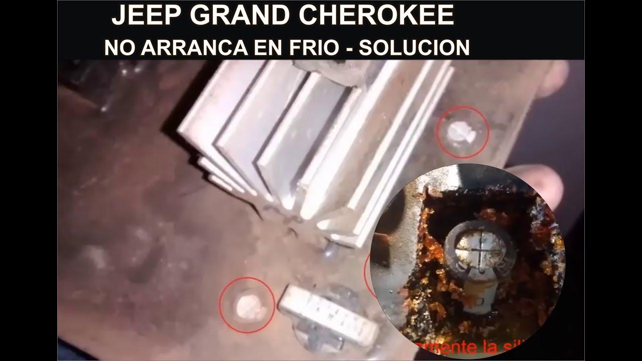 solución problemas de arranque jeep grand cherokee zj 94 - youtube