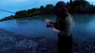 Fishing for sea run trout : Canterbury - New Zealand