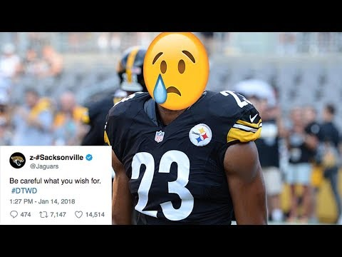 Jags DESTROY Steelers Safety Mike Mitchell for Talking Sh!t Before the Game