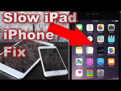 Slow iPad & iPhone Fix | Speed Up iPad & iPhone Ram