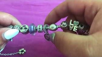 Моята първа Pandora гривна (My first full Pandora Bracelet)