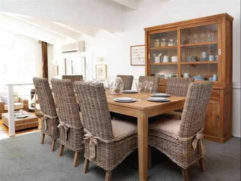 Wicker Dining Chairs | Collection Of Wicker Indoor Dining Chairs ...