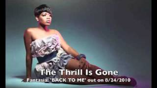 Watch Fantasia Barrino The Thrill Is Gone video