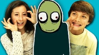 Teens React To Salad Fingers (ft. Jake Short!)