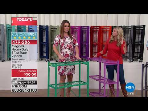 HSN | HSN Today: Storage & Organization featuring Hable Construction 02.27.2018 - 08 AM