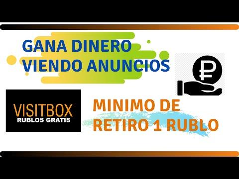 ➡VISIT-BOX | GANA RUBLOS SIN INVERSIÓN + PRUEBA DE PAGO INSTANTANEA