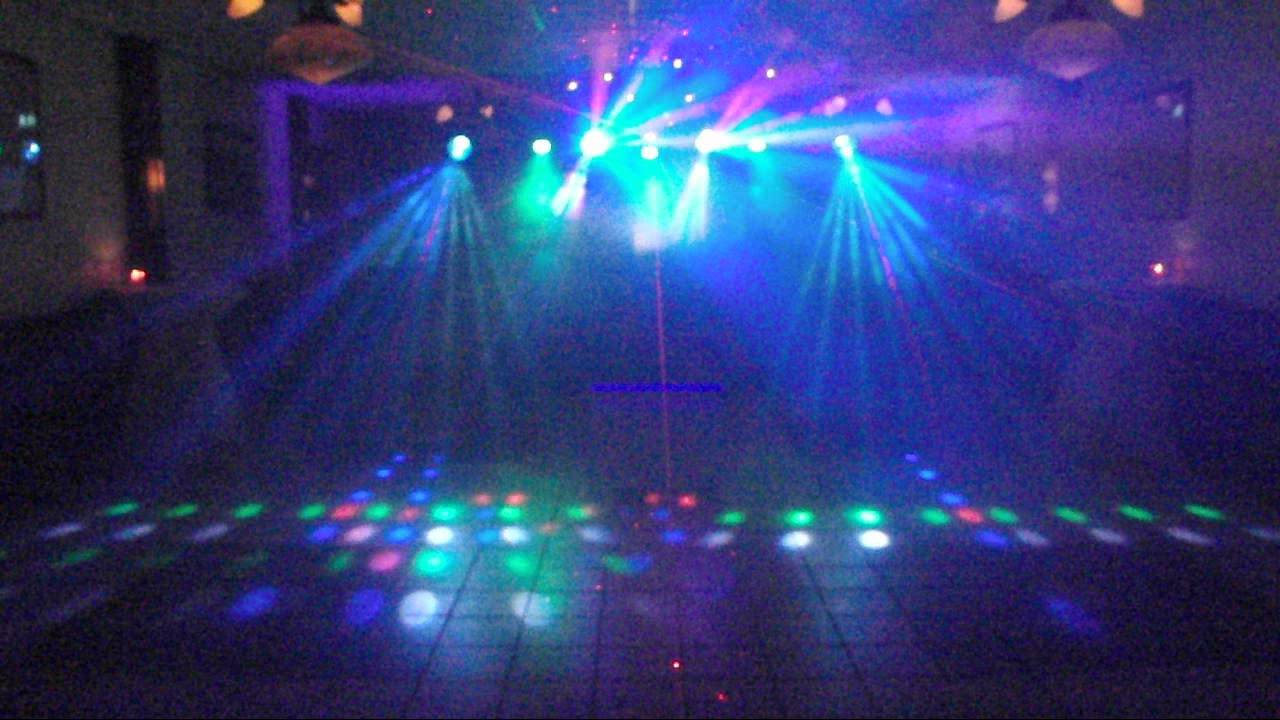 My DJ Lights Set Up & My DJ Lights Set Up - YouTube