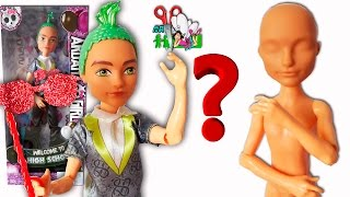 ОБЗОР КУКЛЫ-ПОДДЕЛКИ DEUCE GORGON / Monster High для ООАК/Muza Rukodeliya ????