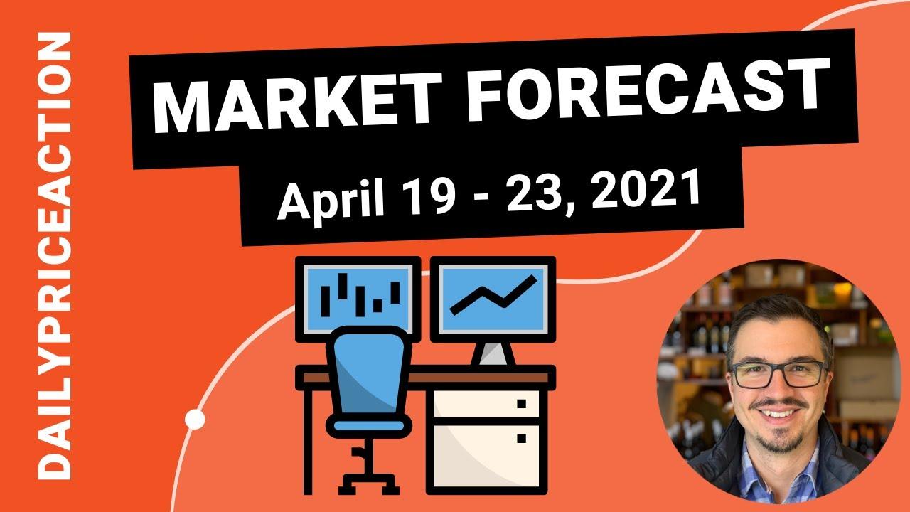 Weekly Market Forecast for EURUSD, GBPUSD, USDJPY, XAUUSD, BTCUSDT (April 19 - 23, 2021)