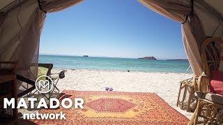 Magic Spot: Camp Cecil on Mexico's Isla Santo Espiritu thumbnail