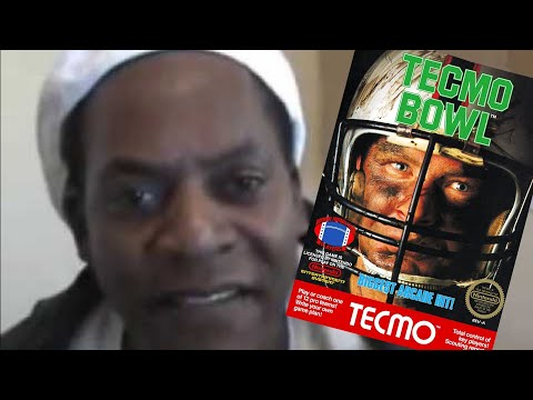 """A Tecmo Bowl XMAS """"Randall Cunningham Is White!"""" Aaron The King Wizard - By Rob Potylo"""