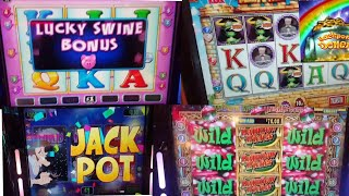 Summer Slots Action, lots of slots with mixed results.