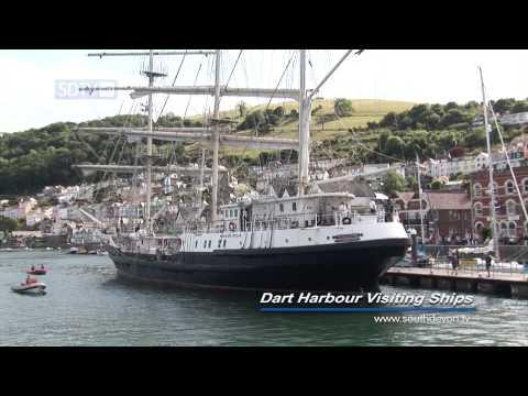 South Devon TV - Dartmouth - Visiting Ships