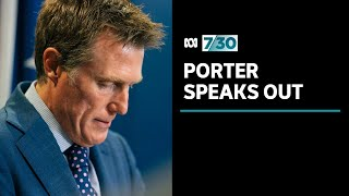 Christian Porter strenuously denies historical rape allegation | 7.30