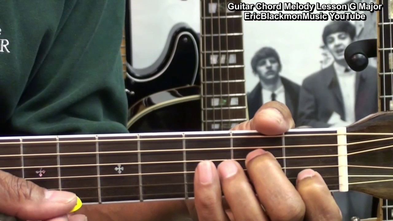 Cool Guitar Chord Melody Progression In G Major How To Play For