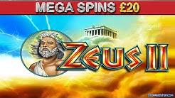 Zeus II Coral Bookies Slot - MAXIMUM FREE SPINS - £20 Mega Spins and £2 Play