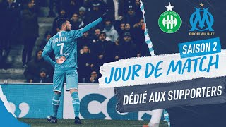 ASSE 0-2 OM | Behind the scenes of a victory 🔥