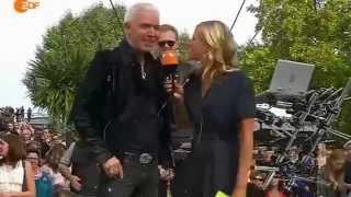 Scooter feat  Vassy   Today Live ZDF Fernsehgarten 2014