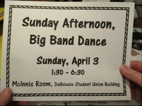 Andy Duinker - Sunday Afternoon Big Band Dance (April 03, 2016)