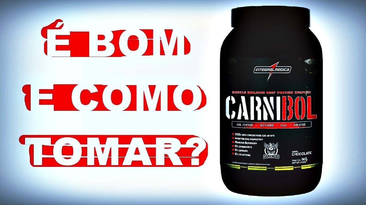 58057e0e2 Carnibol Integralmédica É BOM E COMO TOMAR  - YouTube