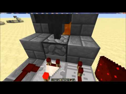 Redstone With Thunder   Fully Automated Very Compact And Efficient Chicken Farm!!!