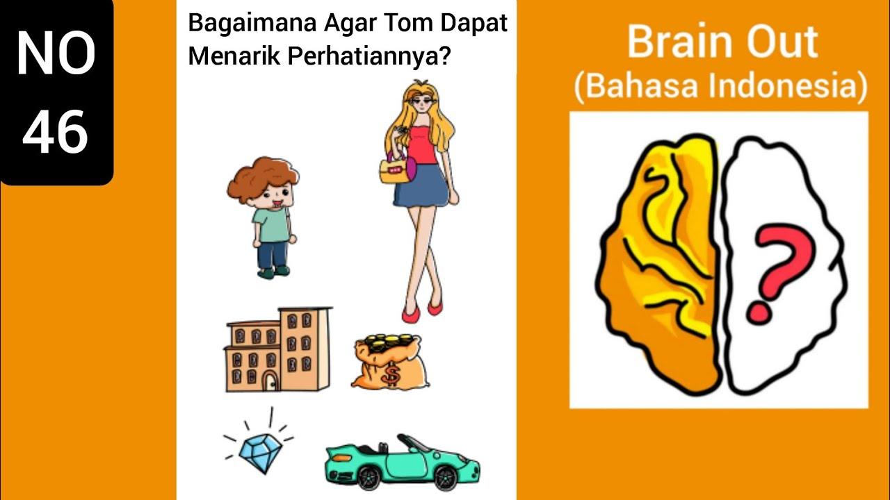 Brain Out Level 46 Bagaimana Agar Tom Dapat Menarik Perhatiannya Youtube