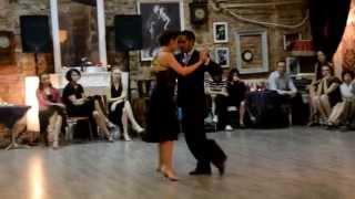 Juan Martin Carrara y Stefania Colina - Bomboncito (F. Salamanca) - Milonga Russia