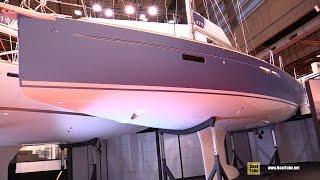 2017 Jeanneau Sun Odyssey 479 Yacht - Deck and Interior Walkaround - 2016 Salon Nautique Paris