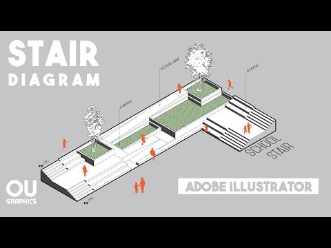 Axonometric Diagram in Adobe Illustrator