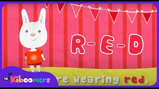 Colors Song for Kids | Learn Colors | What Color Are You Wearing?