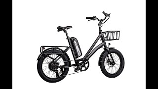The Runabout by Revi Bikes (Civi Bikes) Electric Bicycle 500w E-Bike Easy Step Ebike - Downey CA