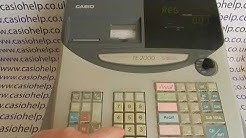 E Error Message Casio TE-100 / TE100 / TE-2000 / TE2000 / PCR-T100 / PCRT100 / PCR-T2000 / PCRT2000