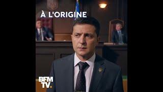 D'acteur à président de l'Ukraine, Volodymyr Zelensky est passé de la fiction à la réalité