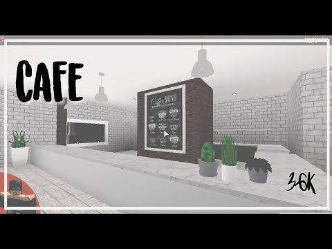 roblox bloxburg cafe coffee shop youtube