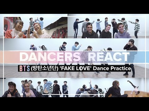 Dancers React to BTS (방탄소년단) FAKE LOVE Dance Practice | Project One