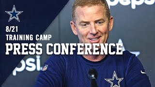 8/21 LIVE Jason Garrett Press Conference | Dallas Cowboys