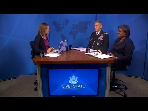Assistant Secretary Thomas-Greenfield, General Rodriguez in a LiveAtState on Sub-Saharan Africa