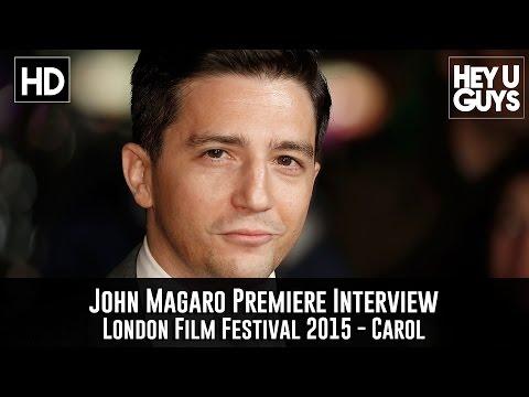 John Magaro Premiere Interview - Carol (+ Working on War Machine & The Big Short)