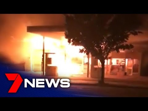 Servo Fire At Woodville Gardens | Adelaide, South Australia | 7NEWS