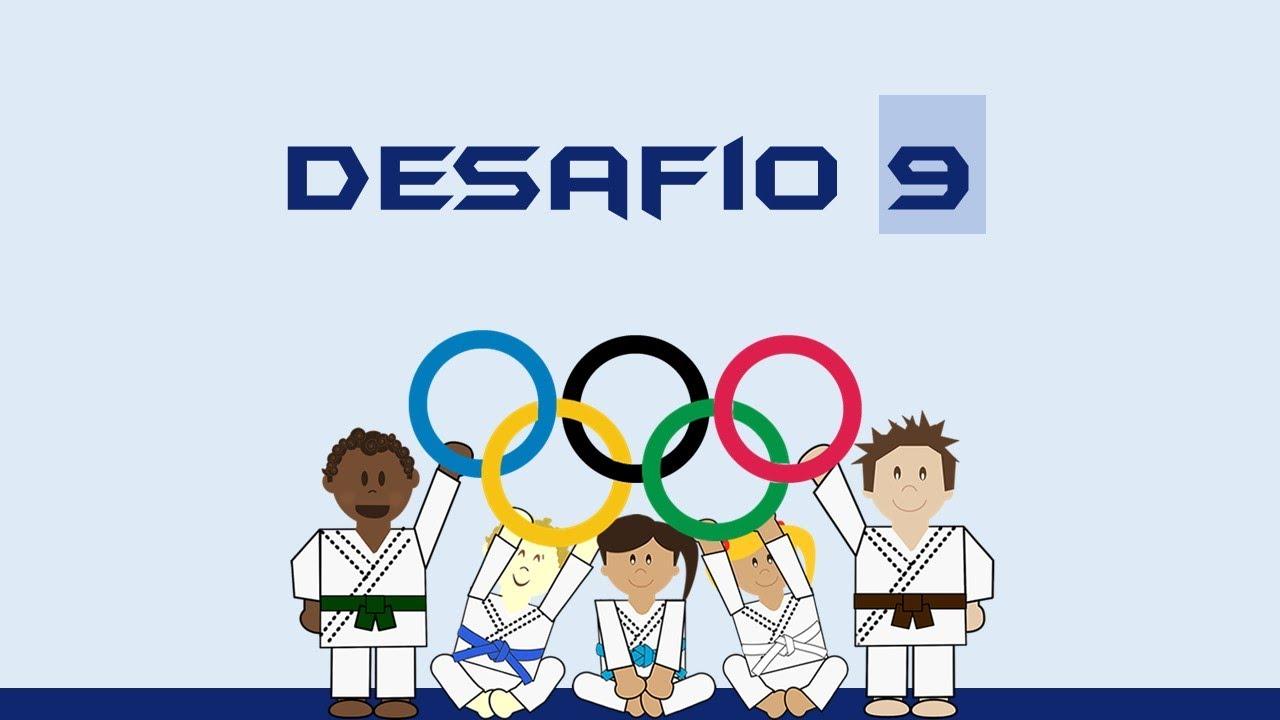 STRONGER TOGETHER 2 - IMERSÃO VALORES OLÍMPICOS   Desafio #9