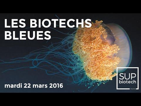 Conférence : « Les biotechs bleues »