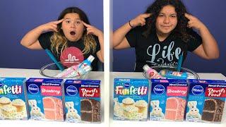 Twin Telepathy Cake Challenge