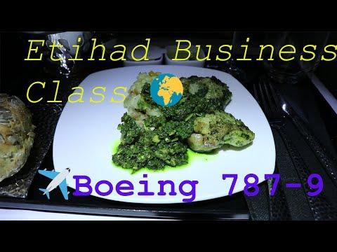 Etihad Boeing 787-9 Business Class | Singapore - Abu Dhabi | TRIP REPORT 2017